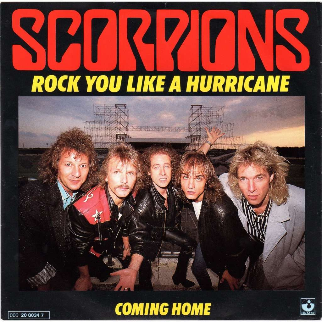 Real classic song of the day scorpions rock you like a hurricane