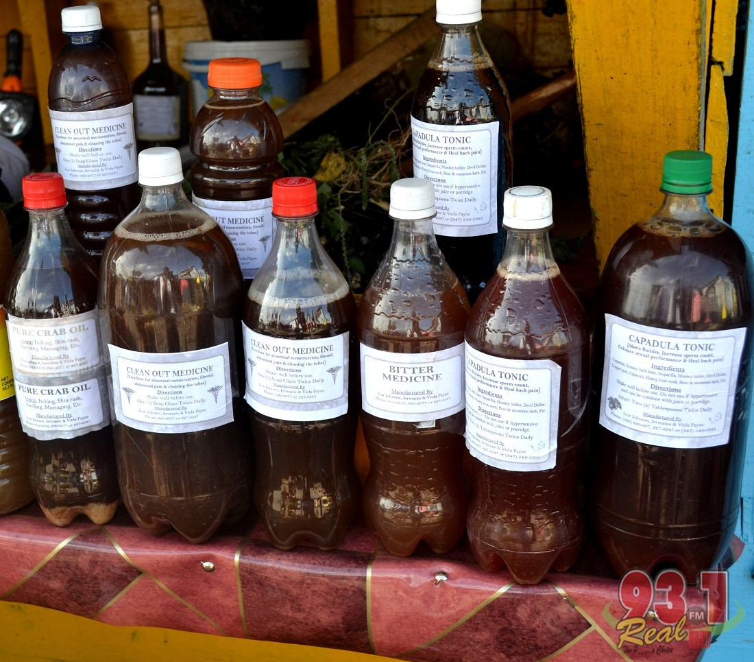 """Processed """"bush"""" medicine ,used for various illnesses and supplements"""