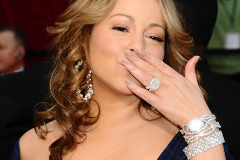 mariah careys engagement ring cost us 10 million - Wedding Ring Cost