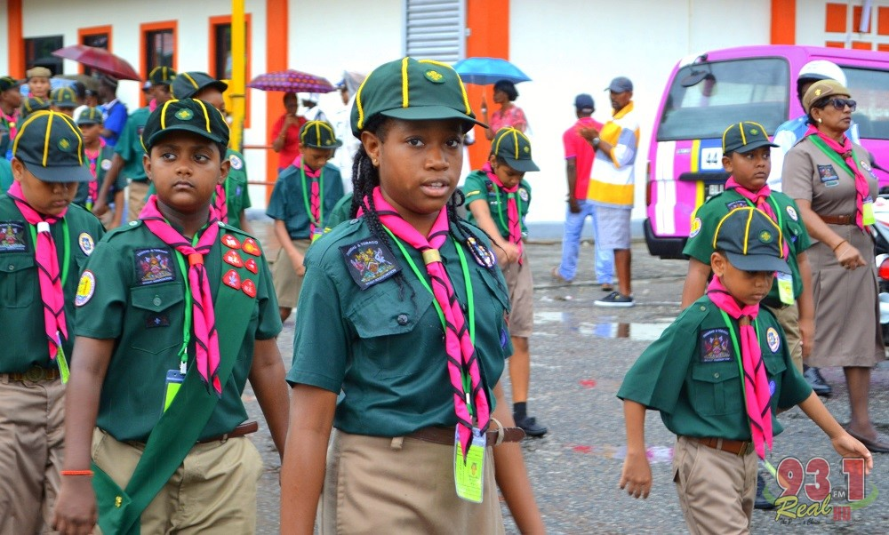 Trinidad and Tobago's finest scouts!!