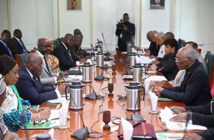 Ghana commits to helping Guyana build capacity in Oil & Gas Sector